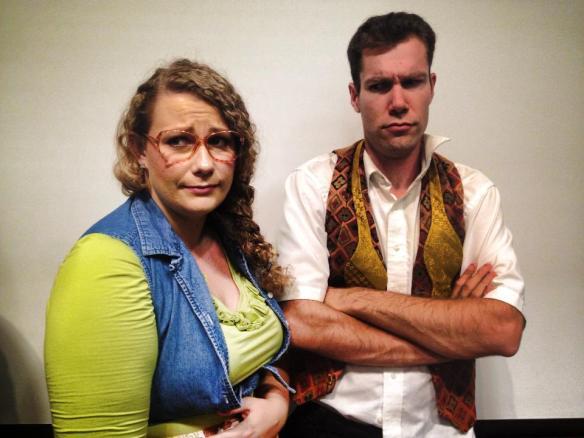 Jo (Katie Garner) and Eddie (Alex Bush)